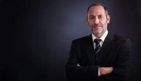 Homem de negócios do alto executivo Fotos de Stock