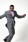 Homem de negócios do americano africano fotografia de stock