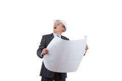 Homem de negócios do arquiteto Imagens de Stock