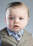 Homem de negócios do bebê Imagem de Stock