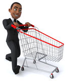 Homem de negócios do divertimento Imagens de Stock