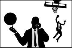 Homem de negócios dois Imagens de Stock
