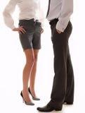 Homem de negócios e mulher de negócios Imagem de Stock Royalty Free