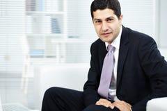 Homem de negócios elegante Fotografia de Stock Royalty Free