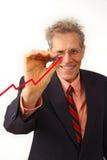 Homem de negócios em um terno Foto de Stock