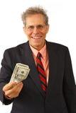 Homem de negócios em um terno Imagem de Stock