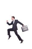 Homem de negócios engraçado Imagens de Stock Royalty Free
