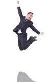 Homem de negócios engraçado Imagem de Stock