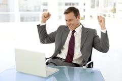 Homem de negócios esperto Imagem de Stock
