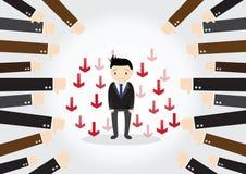 Homem de negócios Feedback Concept Foto de Stock Royalty Free