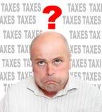 Homem de negócios frustrante Imagem de Stock