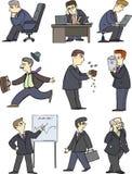 Homem de negócios, gerente, negócio, ilustração ilustração royalty free