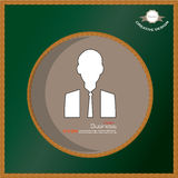 Homem de negócios Icon Imagens de Stock Royalty Free