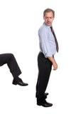Homem de negócios inútil imagens de stock royalty free