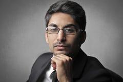 Homem de negócios indiano Imagem de Stock Royalty Free