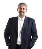 Homem de negócios indiano fotografia de stock royalty free
