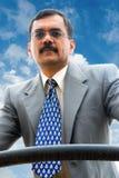 Homem de negócios indiano Fotografia de Stock