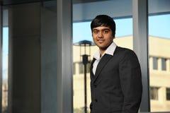 Homem de negócios indiano novo Foto de Stock