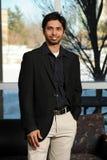 Homem de negócios indiano novo Foto de Stock Royalty Free