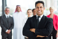 Homem de negócios indiano novo Imagem de Stock Royalty Free