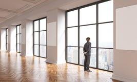 Homem de negócios interior NYC Imagem de Stock
