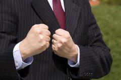 Homem de negócios irritado Imagens de Stock