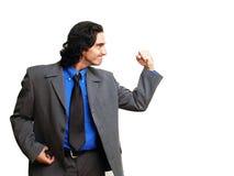 Homem de negócios isoalted-10 Fotografia de Stock Royalty Free
