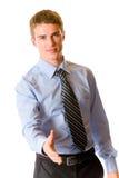 Homem de negócios, isolado Imagens de Stock
