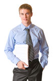 Homem de negócios, isolado imagens de stock royalty free