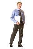 Homem de negócios, isolado fotos de stock