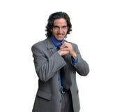 Homem de negócios isolated-7 Imagens de Stock