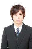 Homem de negócios japonês novo Fotos de Stock Royalty Free