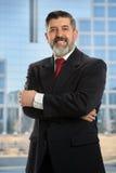 Homem de negócios latino-americano foto de stock