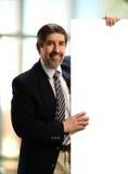 Homem de negócios latino-americano maduro fotos de stock royalty free