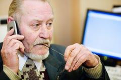 Homem de negócios maduro Foto de Stock