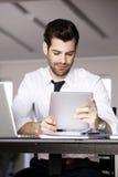 Homem de negócios moderno Portrait Imagens de Stock