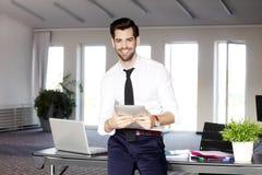 Homem de negócios moderno Portrait Imagem de Stock Royalty Free