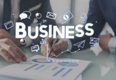 Homem de negócios Money Growth Concept do negócio Fotografia de Stock
