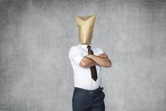 Homem de negócios muito seguro Fotografia de Stock Royalty Free