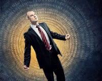 Homem de negócios na raiva Imagens de Stock
