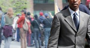 Homem de negócios na rua Imagem de Stock