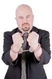 Homem de negócios nas algemas 2 Fotos de Stock