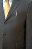 Homem de negócios no terno Fotografia de Stock Royalty Free