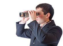 Homem de negócios novo Fotos de Stock Royalty Free