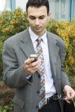 Homem de negócios novo imagens de stock royalty free