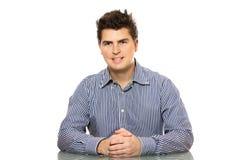 Homem de negócios novo imagens de stock