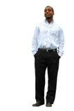 Homem de negócios novo Imagem de Stock
