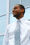 Homem de negócios novo Fotografia de Stock