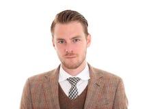 Homem de negócios novo Fotos de Stock