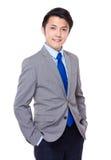 Homem de negócios novo asiático Fotografia de Stock